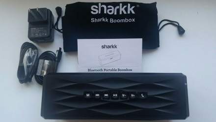 Колонка SHARKK Boombox Bluetooth из Америки. Рубежное. фото 1