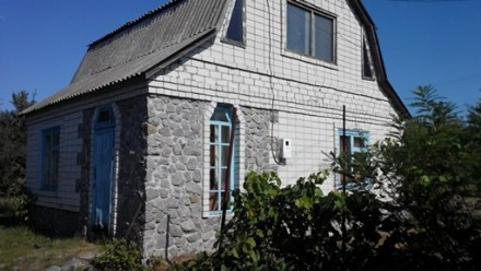 Продам дачный участок 18 соток с домиком в лесополосе возле Днепра. Канев. фото 1