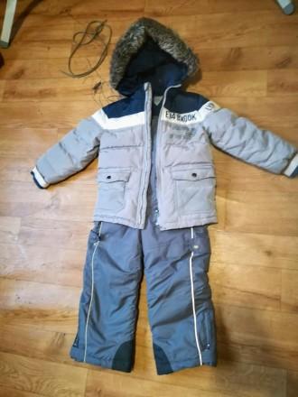 Зимний куртка и комбнезон Chicco на мальчика 5 лет 110р.. Одесса. фото 1