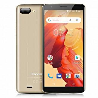 Оригинальный Смартфон Blackview A20 2 сим,5,5 дюй,4 яд,8 Гб,5 Мп,3000 мА/ч.. Одесса. фото 1