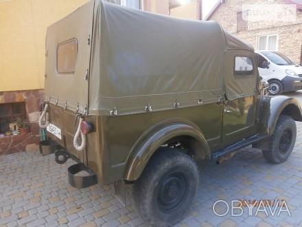 Тент для Газ 69, бризент ГАЗ 69А