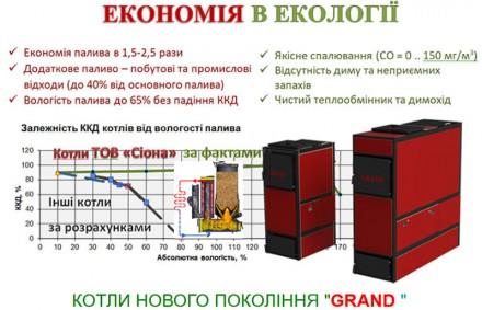 Твердопаливний газогенераторний котел тривалої дії
