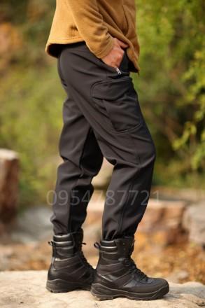 Тактические штаны SoftShell, ESDY брюки. Каховка. фото 1