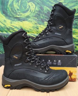 Сапоги мужские Grisport 11433 D74tn Waterproof черные. Запорожье. фото 1