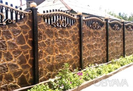 Установим забор в сжатые сроки с гарантией качества. Также изготовим и смонтиру. Чернигов, Черниговская область. фото 1
