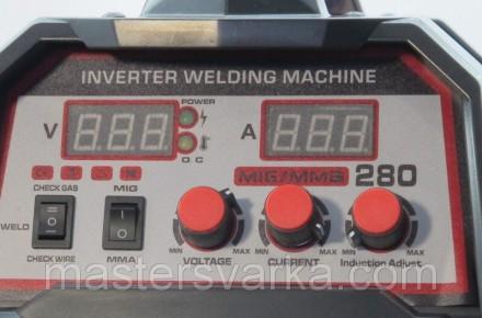Сварочный полуавтомат Shyuan MIG/MMA 280 inverter - аппарат для полуавтоматическ. Днепр, Днепропетровская область. фото 5
