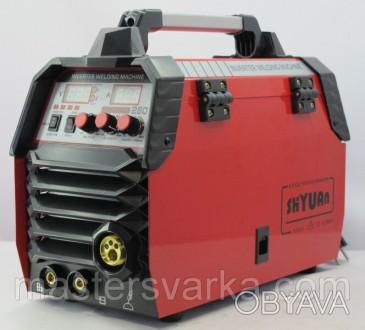 Сварочный полуавтомат Shyuan MIG/MMA 280 inverter - аппарат для полуавтоматическ. Днепр, Днепропетровская область. фото 1