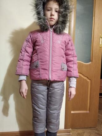 Зимовий дитячий комбінезон. Чернигов. фото 1
