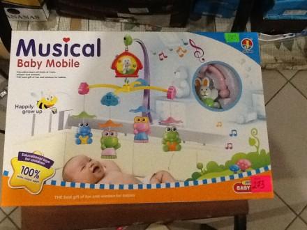 Musical Baby Mobile. Ивано-Франковск. фото 1