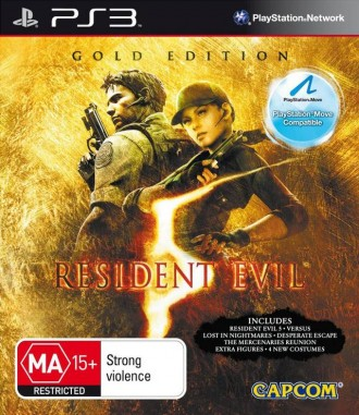 Resident Evil 5 Gold Edition PS3 диск. Запорожье. фото 1