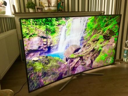 """Официальный! Телевизор SAMSUNG 65"""" 163 см, 4K, UHD, Curved, Smart TV. Киев. фото 1"""