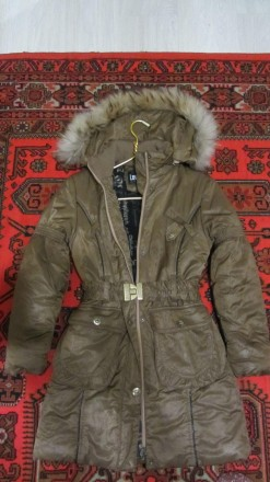 Пальто зимнее для девочки 7-8 лет!. Сумы. фото 1
