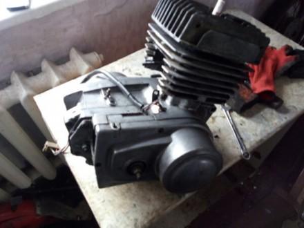 Двигатель мотоцикла Минск 6-12 вольт откапиталенный мотор. Константиновка. фото 1
