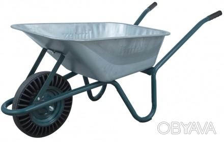 Тачка одноколесная садовая Limex 90/160(к)