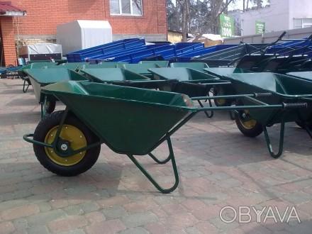 Строительная тачка Атек предназначена для перевозки любых грузов не более 200 кг. Киев, Киевская область. фото 1