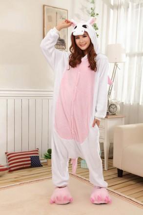 Пижамы Кигуруми «Единорог розовый». Одесса. фото 1