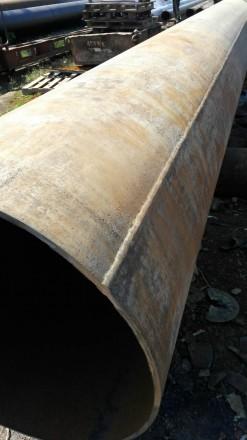 Труба б.у  ф720*12-11 прямошовная Вес метра трубы 200.92 кг   Продажа от 1-го . Днепр, Днепропетровская область. фото 2