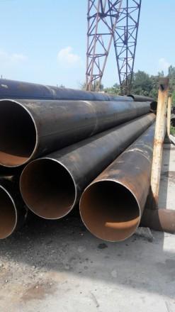 Труба б.у  ф630*10-9 прямошовная Вес метра трубы 145.36 кг   Продажа от 1-го м. Днепр, Днепропетровская область. фото 3
