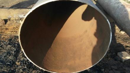 Труба б.у  ф630*8-7 прямошовная Вес метра трубы 115.13 кг   Продажа от 1-го ме. Днепр, Днепропетровская область. фото 3