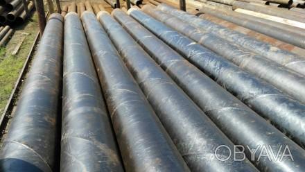 Труба б.у  ф630*6-5 спиралешовная Вес метра трубы 84.7 кг   Продажа от 1-го ме. Днепр, Днепропетровская область. фото 1