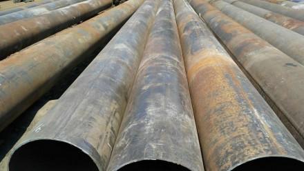 Труба б.у  ф530*9-8 прямошовная Вес метра трубы 109.31 кг   Продажа от 1-го ме. Днепр, Днепропетровская область. фото 3