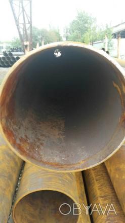 Труба б.у  ф426*9-8 бесшовная Вес метра трубы 87.51 кг   Продажа от 1-го метра. Днепр, Днепропетровская область. фото 1