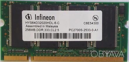 Продам оперативну пам'ять до ноутбука SO-DIMM DDR 256Mb. Винница, Винницкая область. фото 1