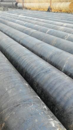 Труба б.у  ф426*4.5 спиралешовная Вес метра трубы 46.77 кг   Продажа от 1-го м. Днепр, Днепропетровская область. фото 2