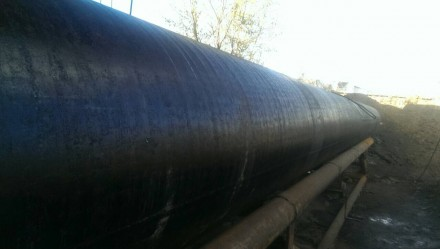 Труба б.у  ф920*10-9 прямошовная Вес метра трубы 213.3 кг   Продажа от 1-го ме. Днепр, Днепропетровская область. фото 5