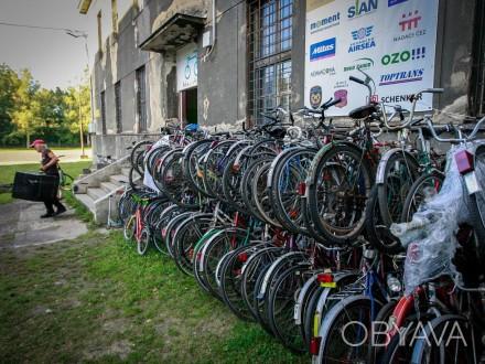 фирма из Остравы ( Чехия)  KOLAPROAFRIKU предлагает дешевые подержанные велосипе. Львов, Львовская область. фото 1
