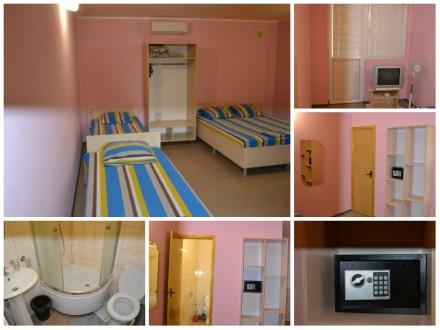 Сдам,для отдыха,отдельные,номера-все в виде однокомнатных квартир (комната,кухня. Солнечногорское, Крым. фото 4
