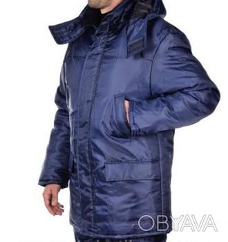 Куртка прямого силуэта, центральная застежка на молнии, скрыта планкой на липучк. Днепр, Днепропетровская область. фото 1