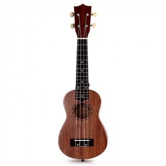 Гавайская гитара Burks UK-21+ Струны и медиаторы - Укулеле Сопрано  Супер пред. Апостоловo, Днепропетровская область. фото 6