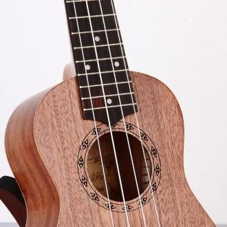 Гавайская гитара Burks UK-21+ Струны и медиаторы - Укулеле Сопрано  Супер пред. Апостоловo, Днепропетровская область. фото 3