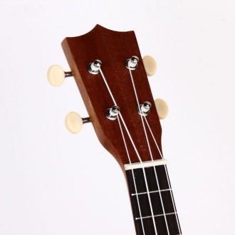 Гавайская гитара Burks UK-21+ Струны и медиаторы - Укулеле Сопрано  Супер пред. Апостоловo, Днепропетровская область. фото 5