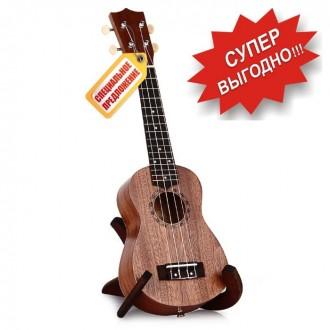 Гавайская гитара Burks UK-21+ Струны и медиаторы - Укулеле Сопрано  Супер пред. Апостоловo, Днепропетровская область. фото 2