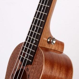 Гавайская гитара Burks UK-21+ Струны и медиаторы - Укулеле Сопрано  Супер пред. Апостоловo, Днепропетровская область. фото 4