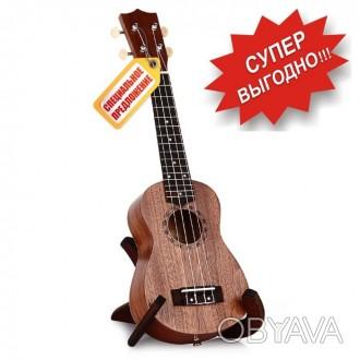 Гавайская гитара Burks UK-21+ Струны и медиаторы - Укулеле Сопрано  Супер пред. Апостоловo, Днепропетровская область. фото 1