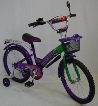 Детский велосипед RUEDA 20 дюймов, от 9 лет. Полная комплектация. Велосипед уком. Киев, Киевская область. фото 2
