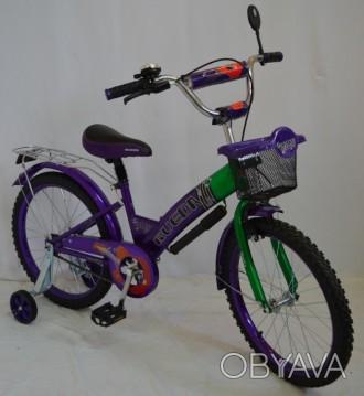Детский велосипед RUEDA 20 дюймов, от 9 лет. Полная комплектация. Велосипед уком. Киев, Киевская область. фото 1