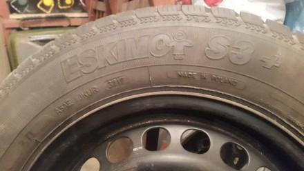 Продаю зимові колеса SAVA 195/65 R15...8мм.протектор...один сезон їздила...рік н. Львов, Львовская область. фото 9