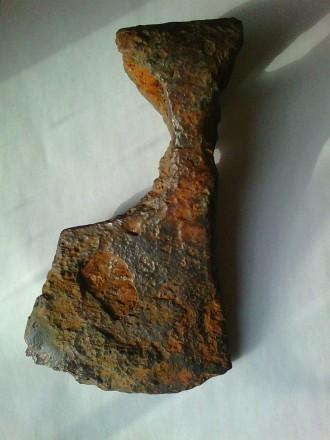 Боевой топор-секира.Боевая секира КР, вес 490 грамм. 11-13 век. Славяне. Херсон. фото 1