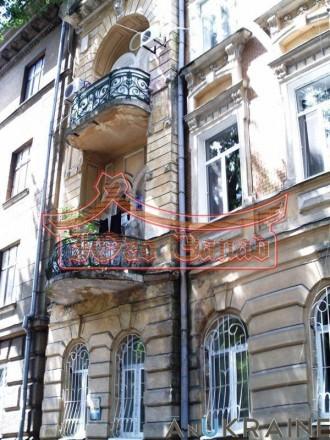 Маразлиевская/Сабанский переулок.  Фасадный (с видом на парк), малоквартирный (н. Приморский, Одесса, Одесская область. фото 3