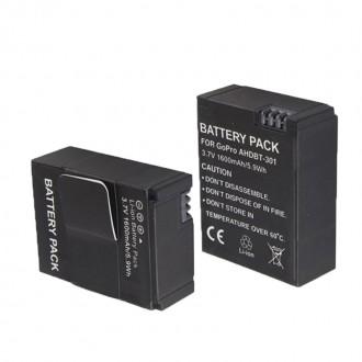 батареи для Gopro hero 3 3 цена за пару. Белая Церковь. фото 1