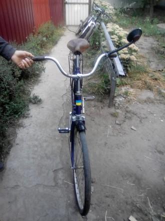 Продам велосипед салют складной на ходу  ссср. Бахмач. фото 1