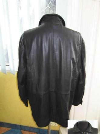 Утеплённая кожаная мужская куртка VIA CORTESA. Италия. Лот 317 Качественная, ст. Ужгород, Закарпатская область. фото 4