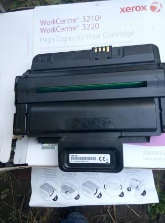 Картридж Xerox WC3210/3220 106R01487 virgin однопроходец, не заправлялся. Киев. фото 1