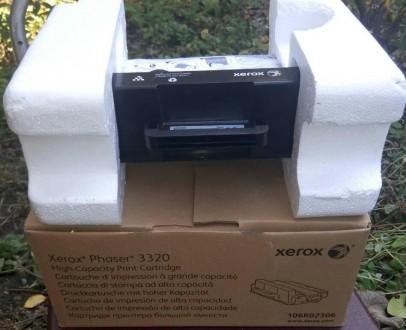 картридж Xerox Phaser 3320 106R02306 однопроходец, не заправлялся. Киев. фото 1