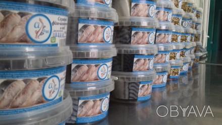 Предприятие-производитель (г. Одесса) реализует оптом пресервы из рыбы и морепро. Одесса, Одесская область. фото 1