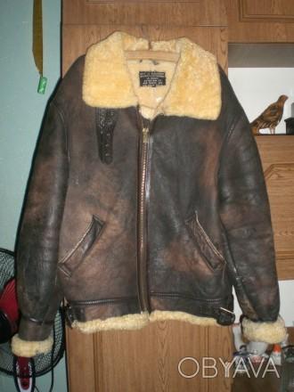 ᐈ Зимова шкіряна куртка-піARMYлот US ᐈ Червоноград 2200 ГРН ... 32fb47f02e5ec